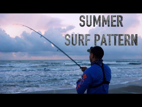 South Padre Island Surf Fishing **Summer Pattern**