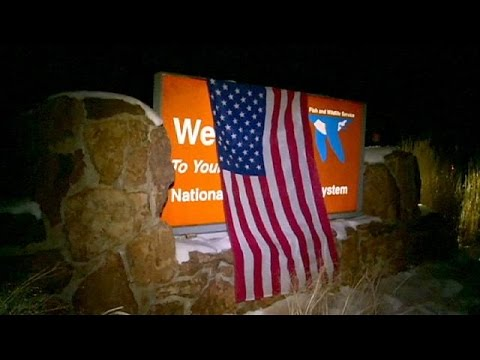 ABD'de Milisler Federal Binayı Bastı