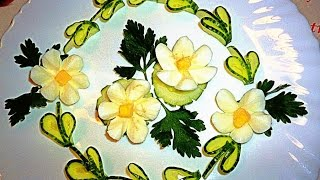 7 ЛАЙФХАКОВ КАК КРАСИВО НАРЕЗАТЬ ЯЙЦА! УКРАШЕНИЯ ТАРЕЛКИ!(7 Идей Как сделать кувшинки из яиц, ромашку, корзиночки и просто цветочки и грибочки для украшения тарелки..., 2016-03-14T07:16:19.000Z)