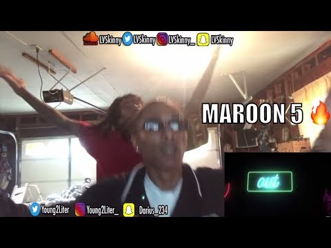 Maroon 5 ft. Julia Michaels- Help Me Out (Reaction Video)