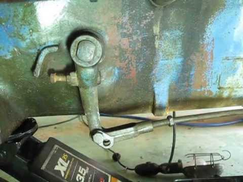 1966 Ford 3000 Tractor clutch linkage