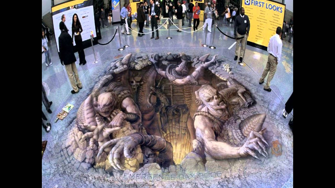 Paint Wall Mural Top 20 Most Creative 3d Street Art Designs Youtube