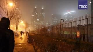В Китае ввели красный уровень тревоги из за сильного тумана