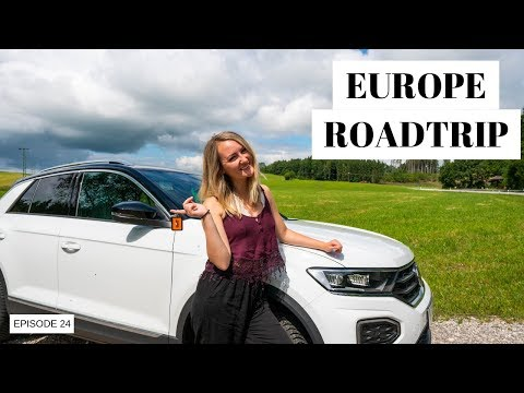 EP 24: EUROPEAN ROAD TRIP | Renting A Car In Europe