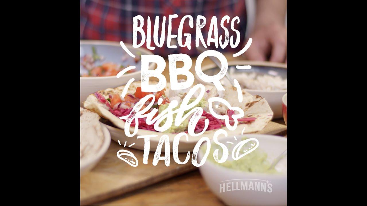 Hellmann's & DJ BBQ: Bluegrass BBQ Fish Tacos Recipe #grilltopia