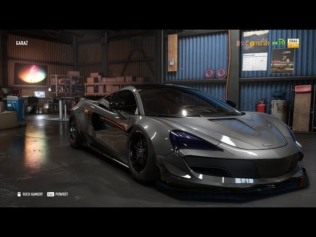 Need For Speed Payback - McLAREN 570S Coupe Customization