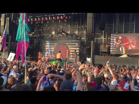 blink 182 with Matt Skiba - Not Now (Live) - Firefly 2016 Music Festival - NEW