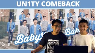 Download WOWW Akhirnya COMEBACK! UN1TY - 'BABY' M/V REACTION   SWEET SONG