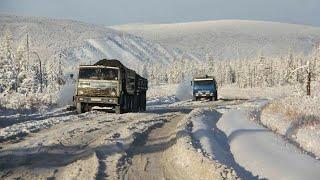 Дальнобой Зимник Якутия