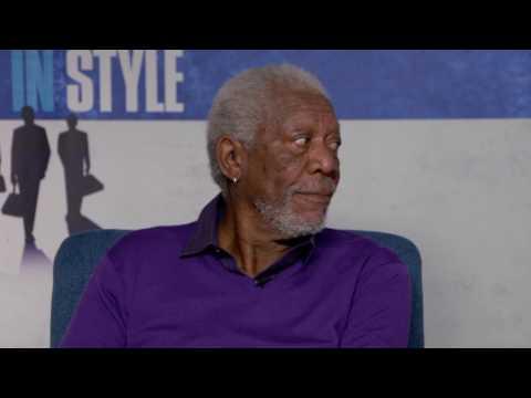 Going in Style || Michael Caine, Morgan Freeman & Alan Arkin Open End Interview|| SocialNews.XYZ