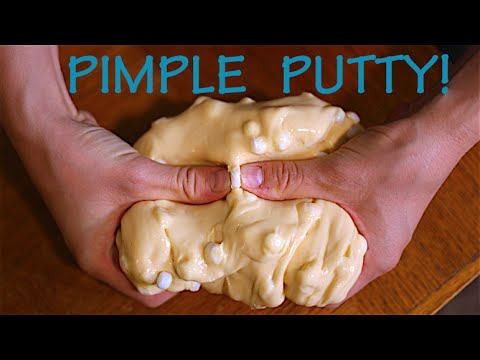 How To Make Pimple Putty! Worlds Funniest Infomercial!