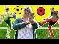 Fozi Mozi - English | Playing soccer