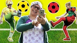 Fozi Mozi - English | Playing soccer
