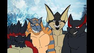 Monstie shots: The Iceborne boys  [Iceborne hype!!]