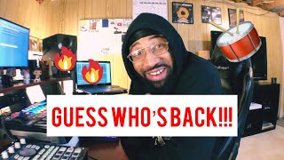 guess who's back!! 🙌👏 (making a boom bap hip hop beat)