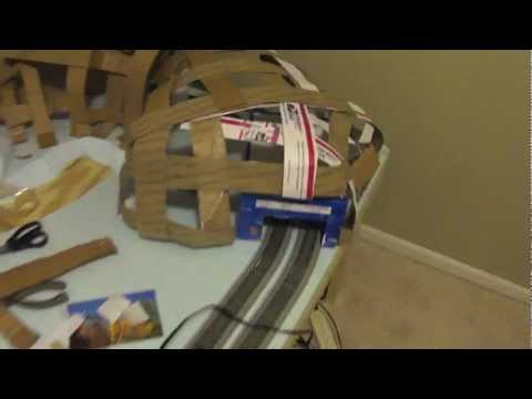 How to Build a Model Railroad using a 4 x 8 Table Episode 6 Building a Mountain Tunnel