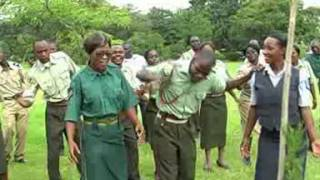 Defence & Security Choir Zambia - Bwana Mungu (Official Video)