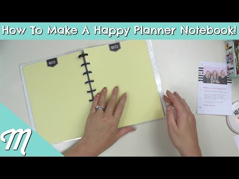 How To Make Your Own Happy Planner Notebook