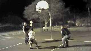Bodycam: Florida Police Officers Joins Kids in Basketball Game