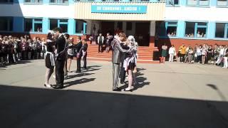 Школьный выпускной, танец, вальс. Хорошо танцуют(хорошо танцуют., 2013-04-14T06:08:14.000Z)