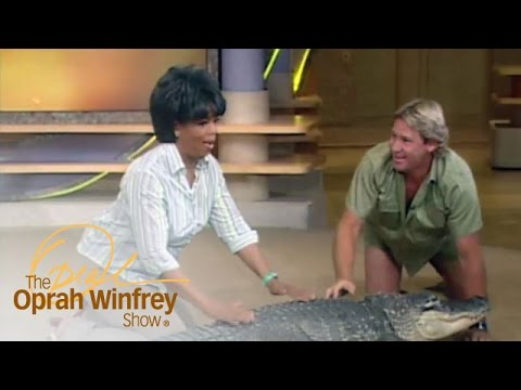 Oprah's Very Close Encounter with Bubba the Alligator | The Oprah Winfrey Show | OWN
