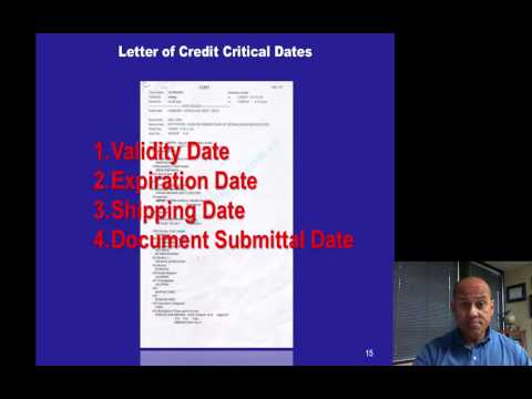 Letter of Credit -  Banking Credit Analysis Process (for Bankers)
