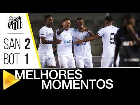 Santos 2 x 1 Botafogo | MELHORES MOMENTOS | Brasileiro de Aspirantes (31/10/17)