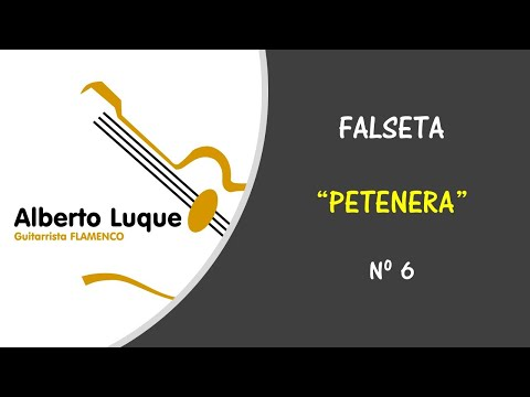 Falseta de petenera 6