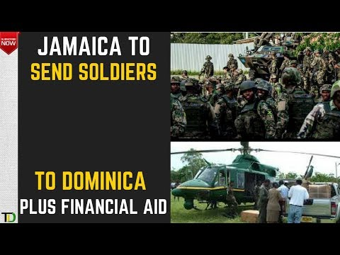 Jamaica to send 120 Soldiers to Hurricane Ravaged Dominica & Barbuda + US$200,000