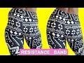 HIP DIPS RESISTANCE BAND WORKOUT | Side Butt Workout w/ Exercise Band for Wider Hips at Home