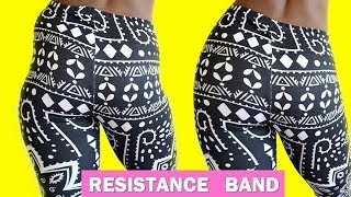 GMUDA Upgraded Resistance Bands for Legs and Butts Fix Your Hip Dips Resistance Band Booty at Home Workout for Wider Hips