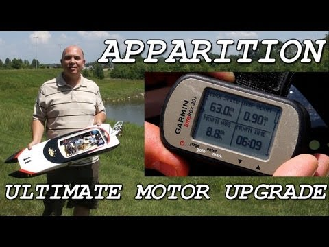 Apparition Ultimate Motor Upgrade - Turnigy SK3 3659-1900kv