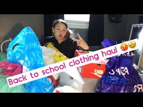 BACK TO SCHOOL CLOTHING HAUL 2019