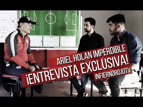 #IRTV Ariel Holan imperdible ¡Entrevista exclusiva!