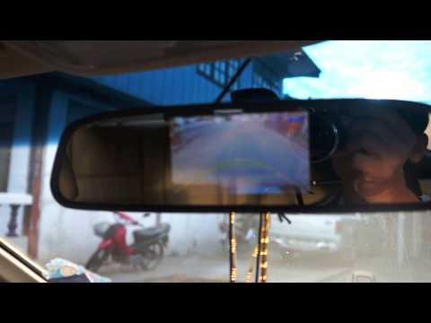 กล้องถอยหลังราคาถูก กล้องมองหลัง ราคาถูก พร้อมจอ LCD4.3 นิ้ว