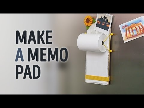 How To DIY A Magnetic Memo Holder L 5-MINUTE CRAFTS