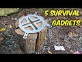 5 Survival Gadgets That Will Blow Your M