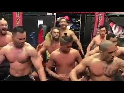 Game of Thrones star Jason Momoa performs Haka