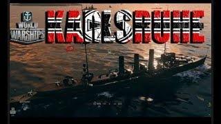 Вытягиваем бой в World of Warships =  меганагиб