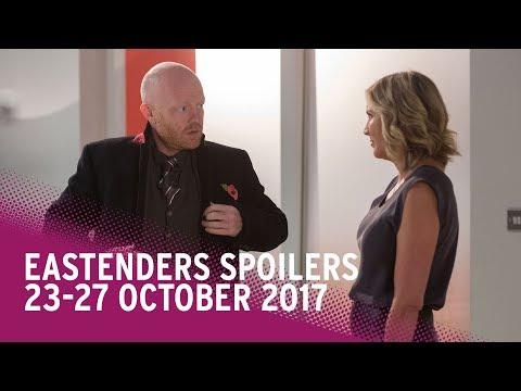EastEnders spoilers: 23-27 October 2017