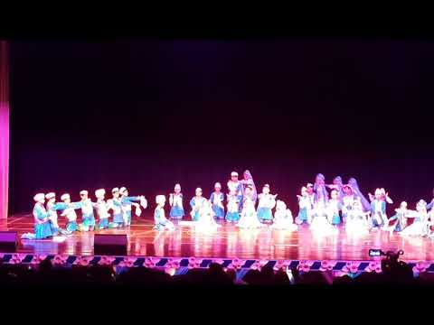 Pollution Pollution dance performance of Manav Mangal children in kawali form