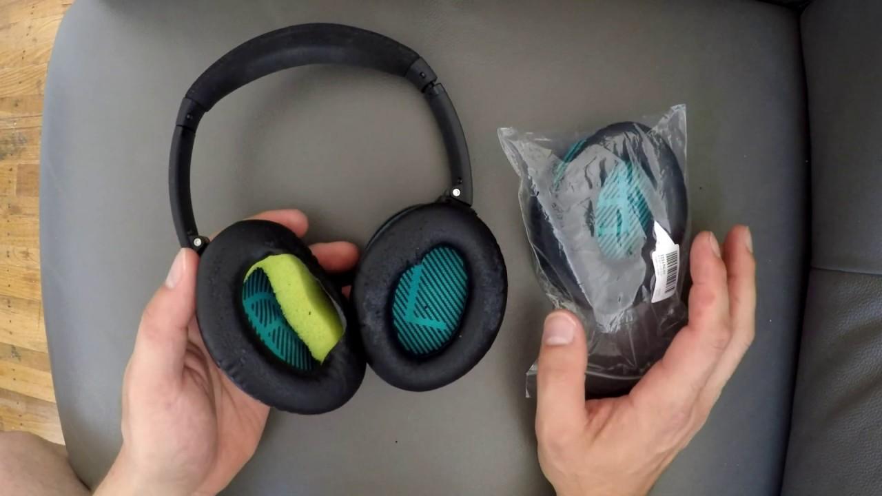 Ear pads Headband Cushion for QC15 QC2 QC15 QC25 Headphones Replacement