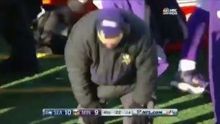 Blair Walsh's Missed Game-Winner called by Viking radio