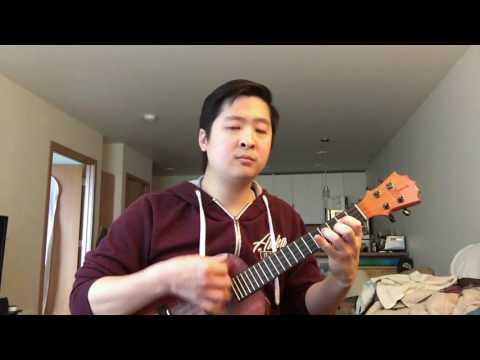 cliffs of dover - ukulele cover