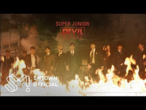 Super Junior  슈퍼주니어_Devil_Music Video Teaser