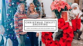 CHRISTMAS THRIFT SHOP WITH US   CHRISTMAS HAUL