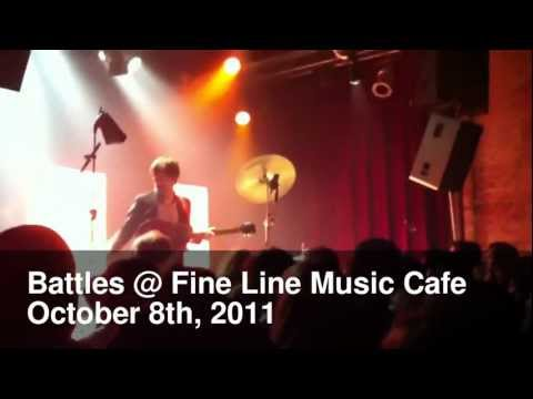 Battles @ Fine Line Music Cafe