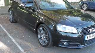 audi a3 1 8 t fsi s line black edition convertible fash xenons led drl bose 14 495 www promot