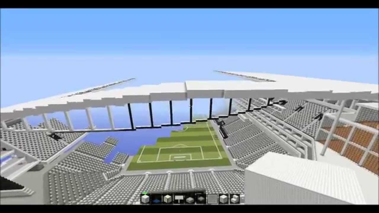 minecraft arena corinthians youtube