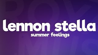 Cover images Lennon Stella  - Summer Feelings (Lyrics) feat. Charlie Puth